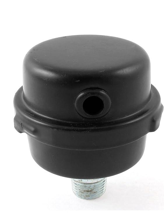 Metal Aire Compresor Admisión Filtro Silenciador Silenciador 3/8BSP 16mm Rosca: Amazon.es: Bricolaje y herramientas