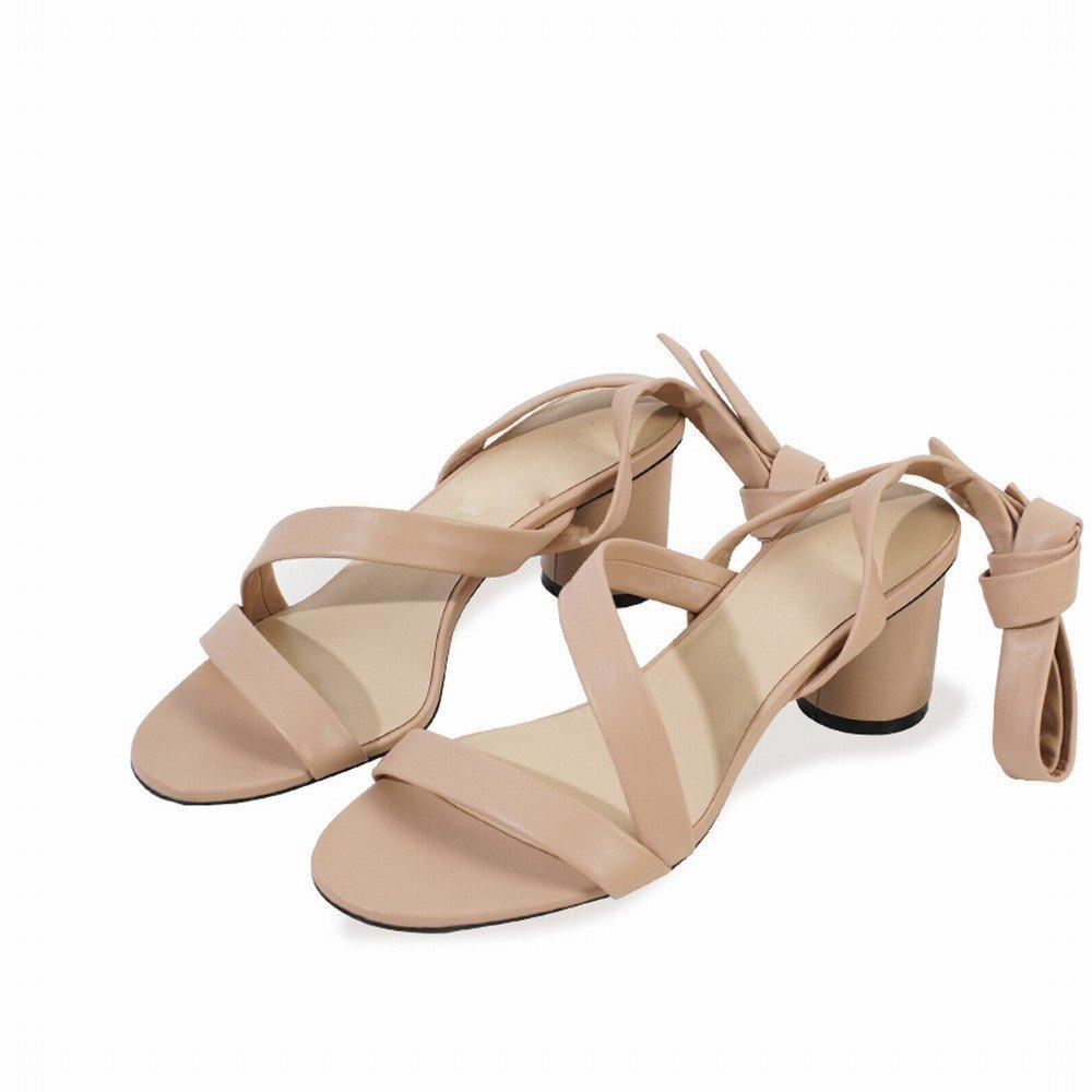 DHG Sommer Einfache Ballett Riemen mit Freiliegenden Finger Sandalen,EIN,36 Sandalen,EIN,36 Finger b41a5b