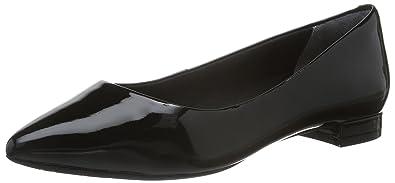 Rockport Total Motion Adelyn Ballet, Ballerines Femme (Black Patent) 36 EU