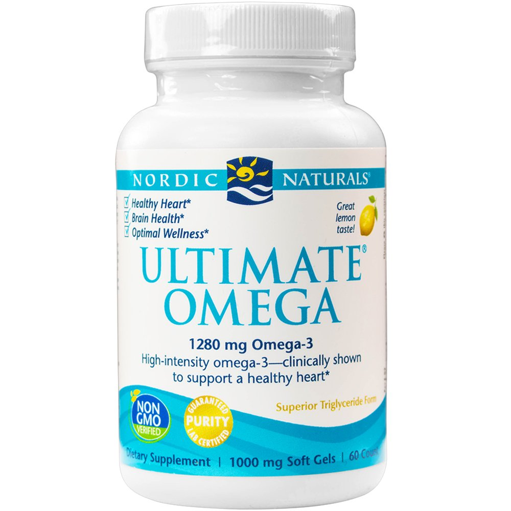 Nordic Naturals - Ultimate Omega, Support for a Healthy Heart, 60 Soft Gels (FFP)