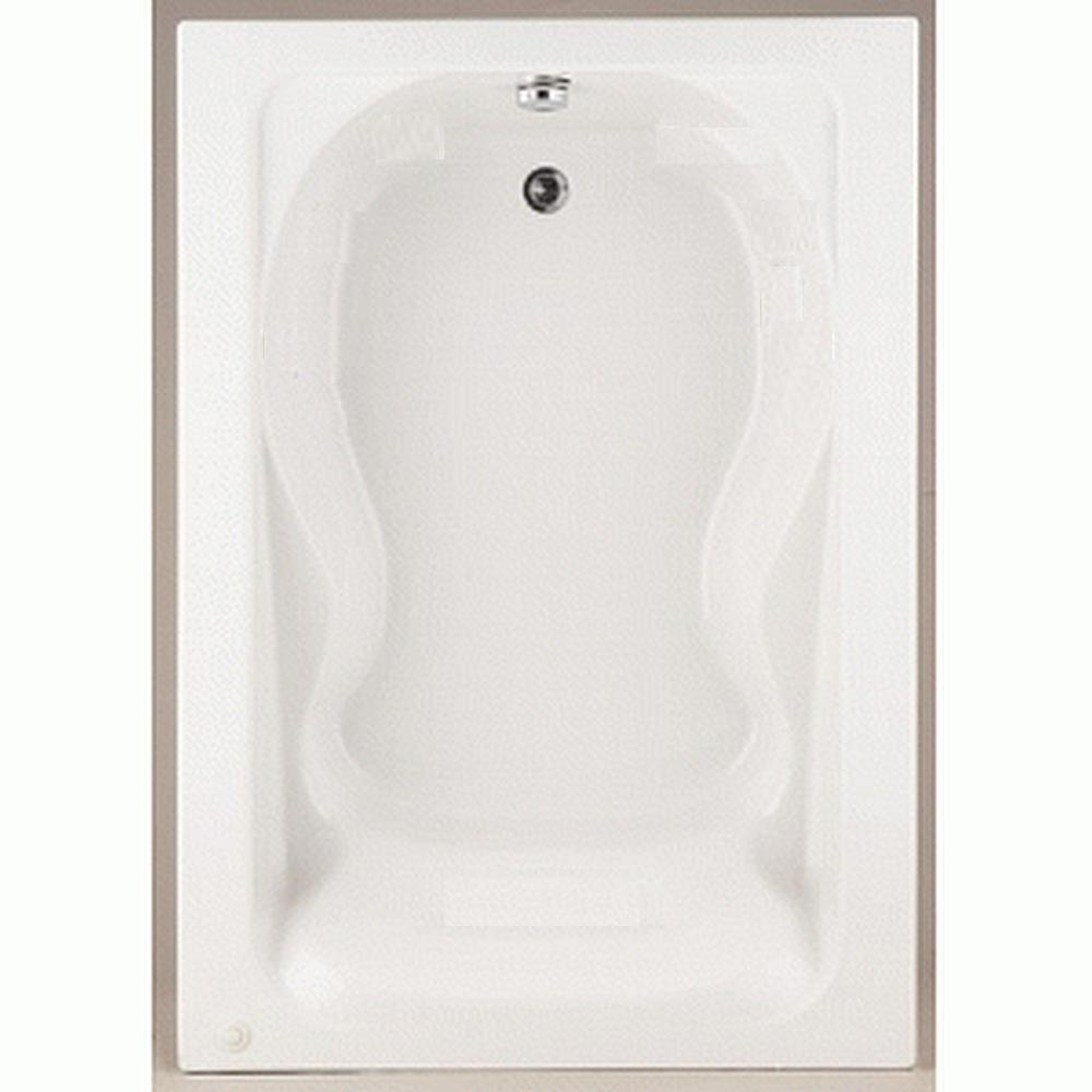 American Standard 2772.002.020 Cadet Bath Tub with form Fitted Back Rest, White