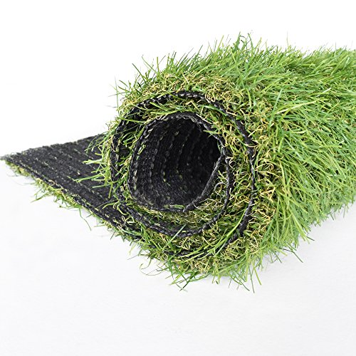 Icustomrug Indoor Outdoor Artificial Grass Shag 8 Feet