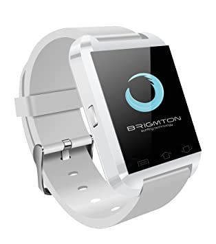 "Brigmton BWATCH-BT2B 1.44"" Blanco Reloj Inteligente - Relojes Inteligentes (3,66"