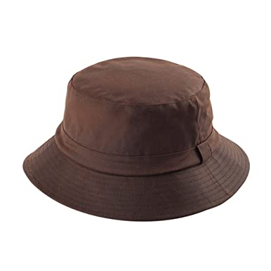 WAXED COTTON CANVAS BUCKET HAT at Amazon Men s Clothing store  8e09b838a50