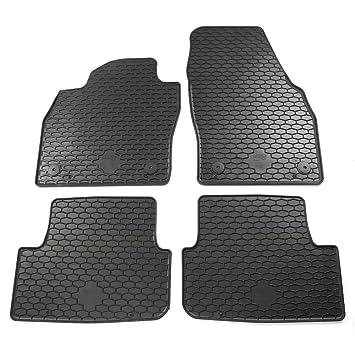 4er Passform Fußmatten Gummi Gummifußmatten SET für VW Fox