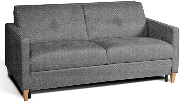 Sofá Convertible escandinava 140 cm colchón 14 cm Sistema ...