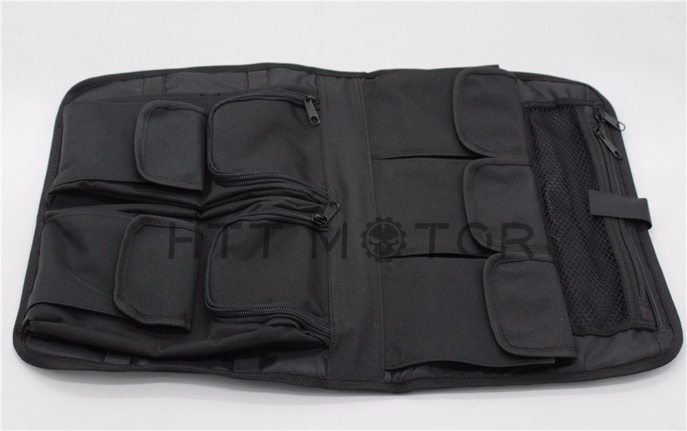 HTTMT- Tour Pack Lid Organizer Black For Harley Davidson All