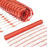 Abba Patio Guardian Safety Netting, Snow Fencing, Recyclable Plastic Barrier Environmental Protection, Orange, 4 x 100' Feet