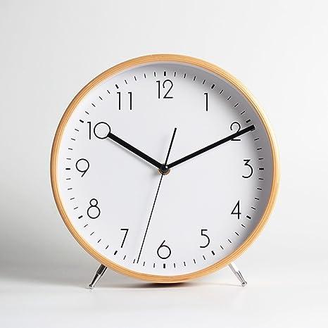 ZEKRBY Personalidad Simple Retro Reloj Hierro Roma Reloj Digital Inglaterra Industrial Sala De Estar Dormitorio Hueca