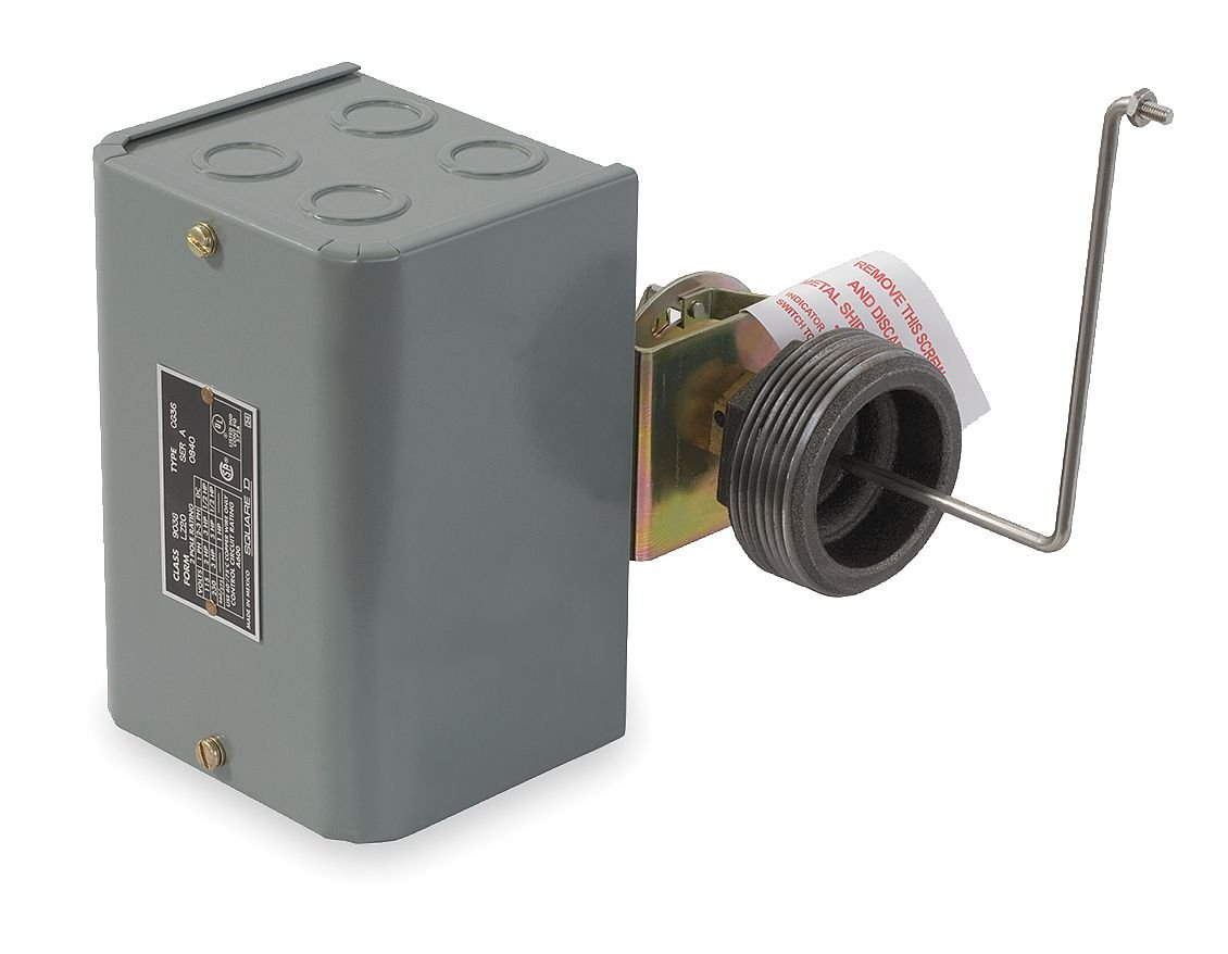 Contacts Open on Rise Side Mount NEMA 1 Float Rod Angle with 7 Offset Schneider Electric 9037HG31R Square D 9037 Closed-Tank Float Switch with Bushing for Power Circuit Right Float Position 90-Deg Float Rod Angle with 7 Offset 90-Deg