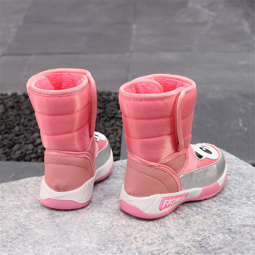 Boys Girls Panda Soft Sole Snow Boots Soft Snow Shoes