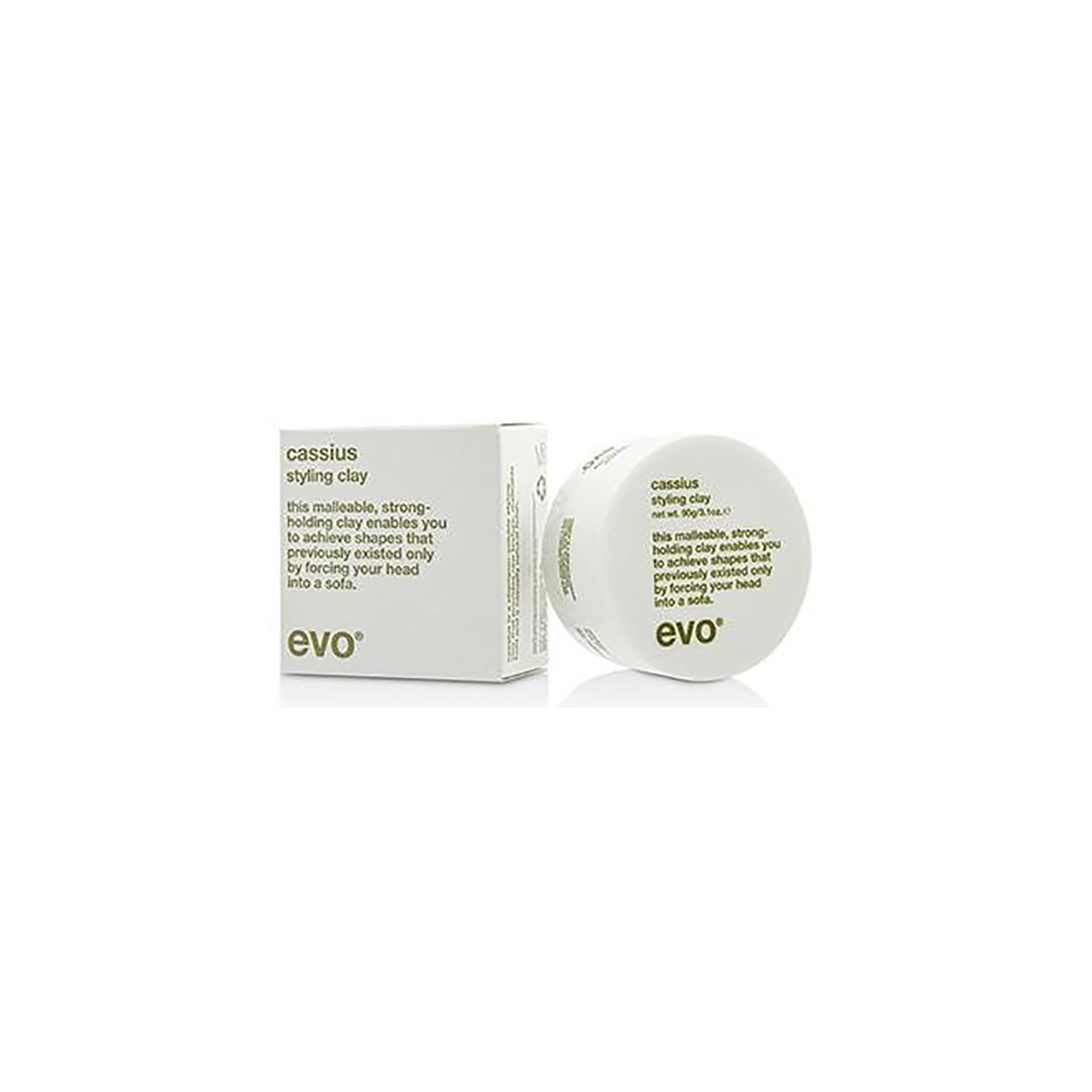 Evo Cassius Styling Clay, 3.1 Oz