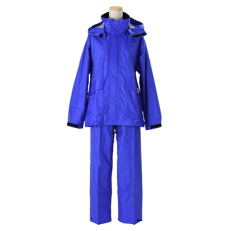 エコブレス 透湿レインスーツ 全4色 全6サイズ 上下スーツ ロイヤルブルー M 防水透湿コーティング 2層レイヤー 収納袋付き K600-RBL-M B01ET2NEOI Medium|ロイヤルブルー ロイヤルブルー Medium