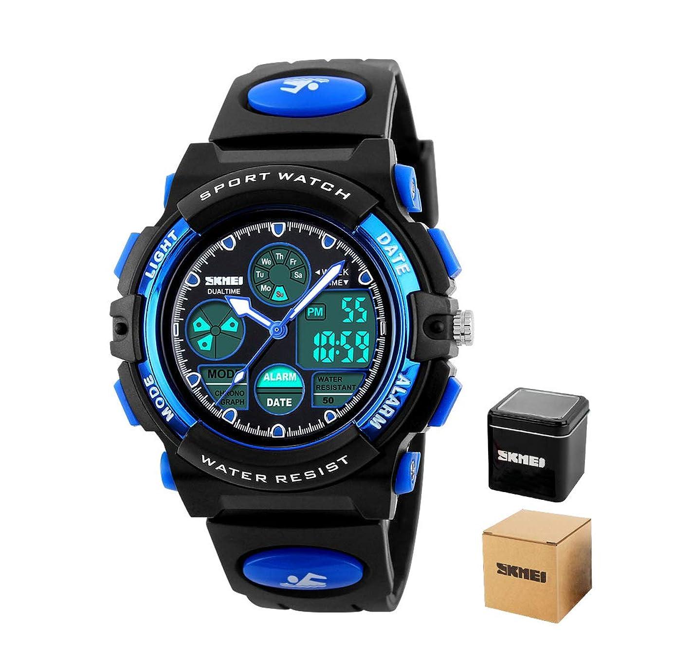 毎回タフ作ります[カクタス]CACTUS キッズ腕時計 ブラック CAC-45-M10 ボーイズ 【正規輸入品】