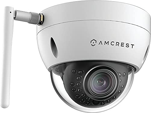 Amcrest 1.3-Megapixel Wi-Fi Dome Camera, White