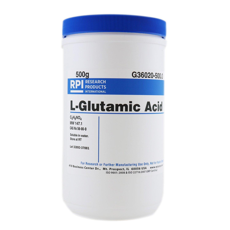 L-Glutamic Acid, 500 Grams
