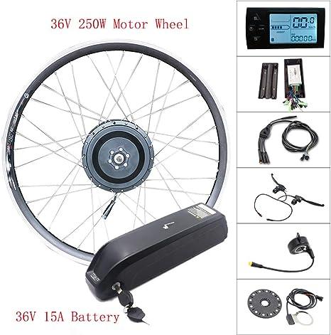 350w36v21asamsunglcd Motor Wheel 36V Ebike Kit Rueda Delantera ...