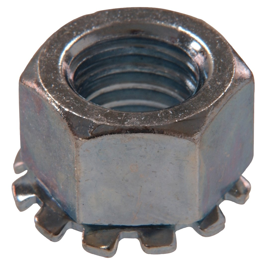 The Hillman Group 180270 Keps Lock Nut, 8-Inch by 32-Inch, 100-Pack
