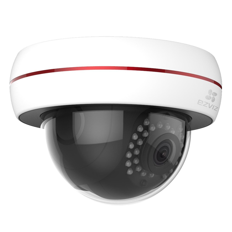 EZVIZ Husky Dome HD 1080p Outdoor Wi-Fi Video Security Camera, 16GB MicroSD, Works with Alexa by EZVIZ (Image #3)