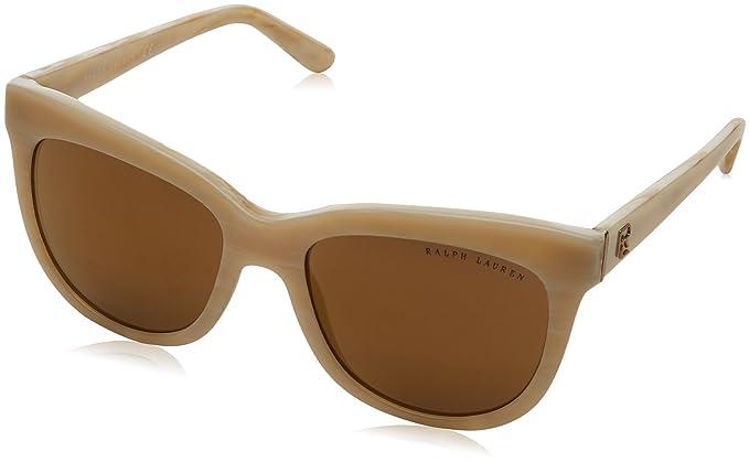 Sunglasses 54 Cream Horn Women's Lauren Ralph 5305f9 0rl8158 Fw77qX