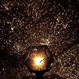 Ewandastore Romantic Fantastic DIY Cosmos Star Projector Lights Lamp Astrostar Astro Star Laser Projector Lamp with Power Supply