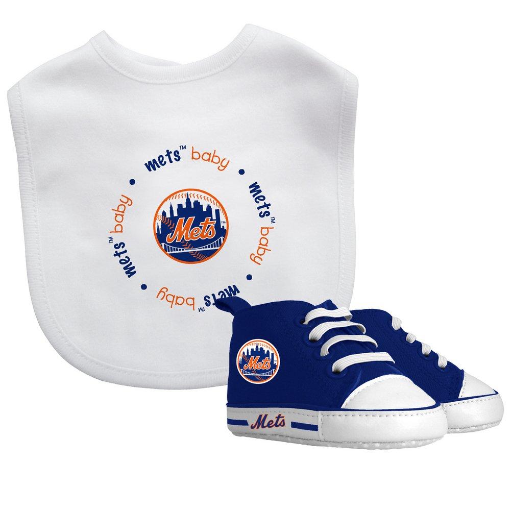 pretty nice 34eb9 bee43 Baby Fanatic MLB New York Mets Unisex NYM30002Bib & Prewalker Gift Set -  New York Mets, See Description, See Description