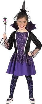 Halloweenia Disfraz para niña, vampiresa de la Oscuridad ...