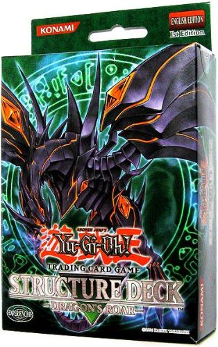 Yu-Gi-Oh Structure Deck: Dragon's Roar Dragon's Roar Structure Deck [1st Edition] [Sealed (Red Eyes Structure Deck)
