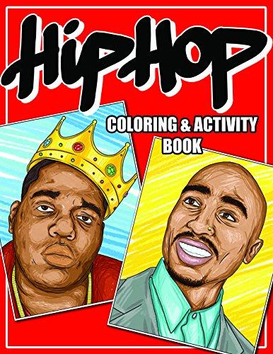Hip-Hop Legends Coloring & Activity - E Eazy Old