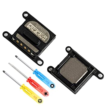 ee6edceb882 MMOBIEL Auricular Ear Speaker para iPhone 8 Plus / 7 Plus Series. Auricular/Audífono  con Altavoz y Cable Flex. Incl. 3 Destornilladores para una fácil ...