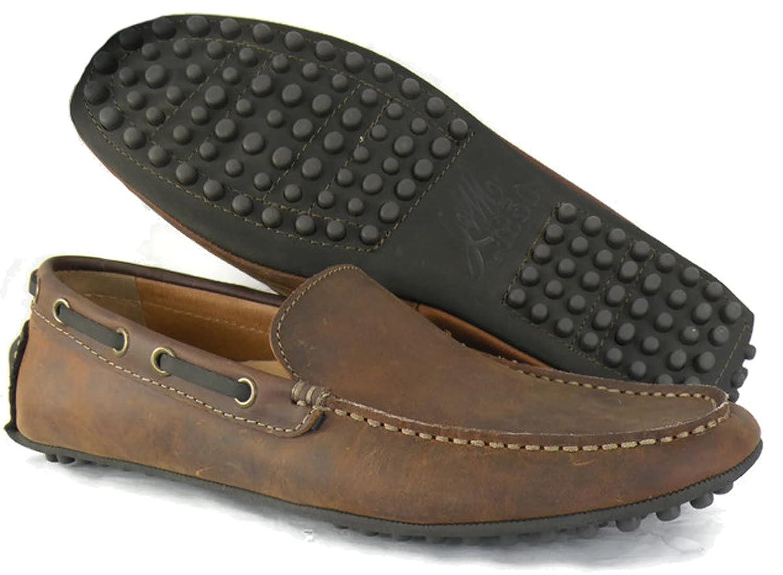 Sullivan Driver Men's Shoes Size US 8 Tan (27-1026)
