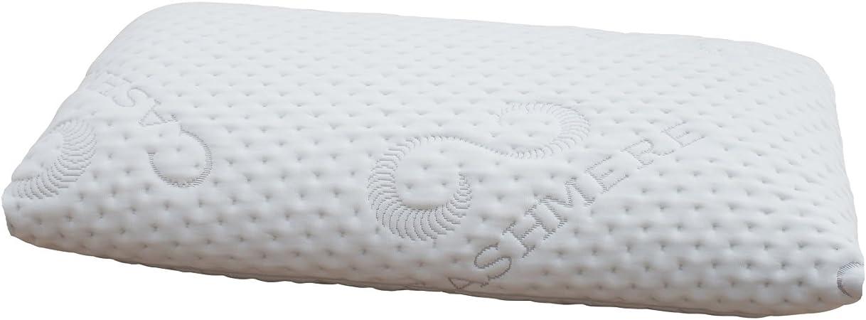 NEW Viscoelastic Memory Foam Neck Bed Head Pillow Cervical VISCO PILLOW