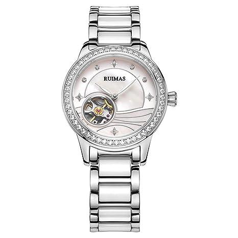 d1ff67bf9fdd Reloj de pulsera para mujer mecánico moda mujeres chica relojes reloj de pulsera  para mujer