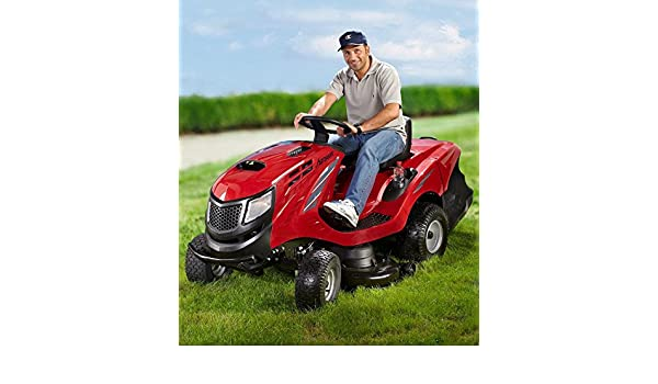 Einhell - GE-TM 102 B&S - Tractor cortacésped: Amazon.es ...
