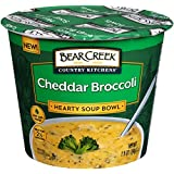 Bear Creek Hearty Soup Bowl, Cheddar Broccoli, 1.9 Ounce (Pack of 6)