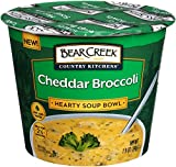 #9: Bear Creek Hearty Soup Bowl, Cheddar Broccoli, 1.9 Ounce (Pack of 6)