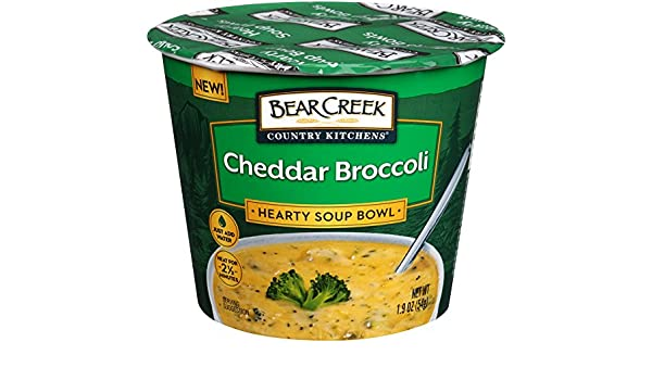 Bear Creek Country Kitchens Soup Bowl, Cheddar Broccoli, 1.9 Ounce (Pack of 6): Amazon.es: Alimentación y bebidas