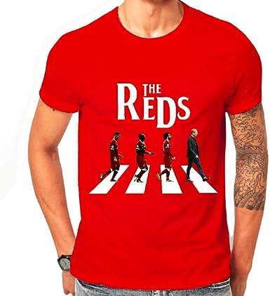 Liverpool Football Club Fan Inspired Printed Retro T Shirt Mens Liver Bird Gift
