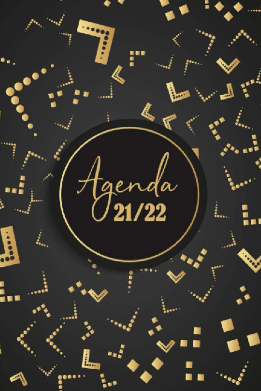 Calendrier Journalier 2022 Agenda 2021 2022: Agenda Journalier pour 2 ans | 2 pages pendant 1