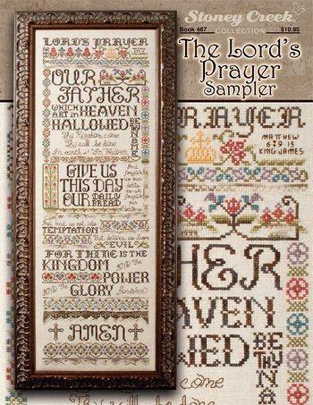 The Lord's Prayer Sampler (Book 467) Cross Stitch Chart