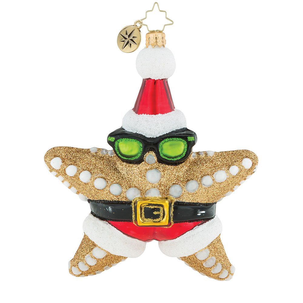 Christopher Radko Who's The Star Now! Christmas Ornament