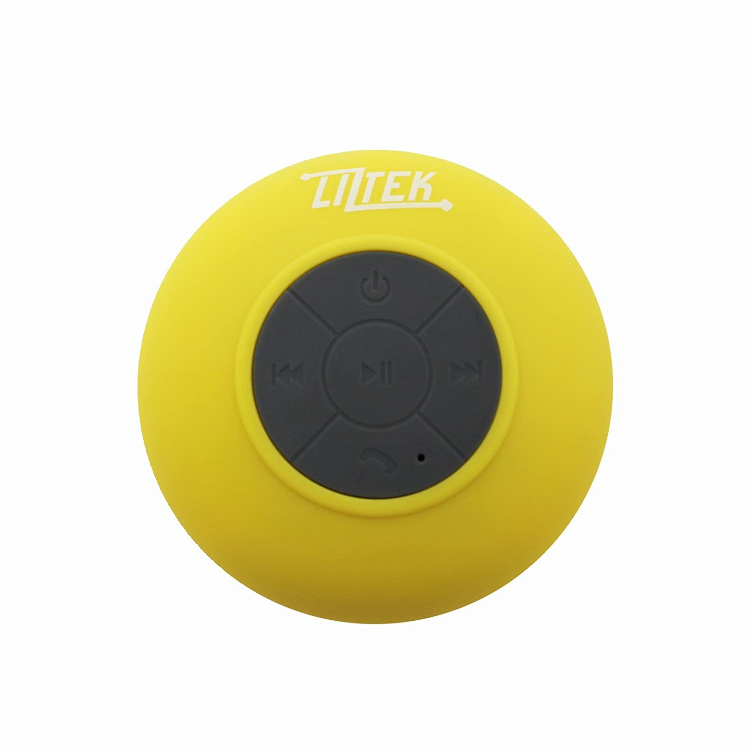 HD Water Resistant Bluetooth 3.0 Shower Speaker Liztek FBA_JSS-100O
