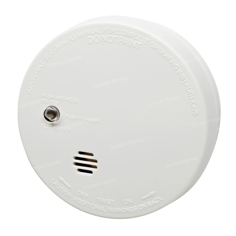 Kidde salvavidas Compact alarma detectora de humo Detector de monóxido de carbono smartphonez Kit - i9040 y 5CO alarmas - prueba y botón de ...