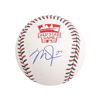 4485e5c7a8f4 Image Unavailable. Image not available for. Color  Mike Trout Autographed  All Star Game ...