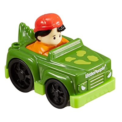 Fisher-Price Little People Wheelies - Koby and Dinosaur: Toys & Games