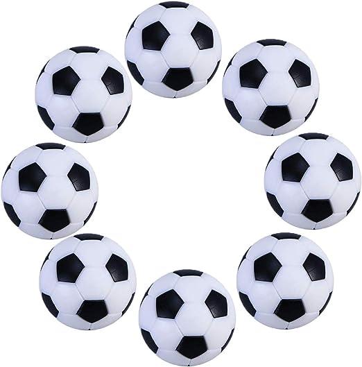 Omenluck - Juego de 8 Pelotas de fútbol de Repuesto para futbolín ...