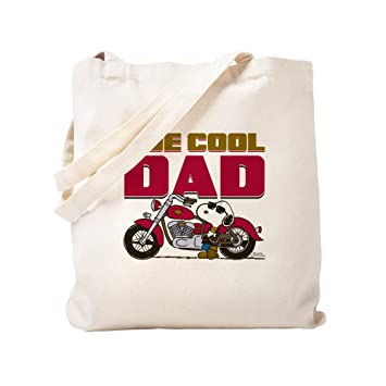 CafePress Peanuts: Joe Cool Dad Bolsa, lona, caqui, Small ...