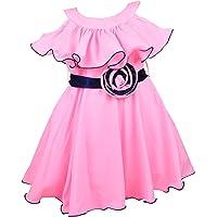 Wish Karo Girls Frock Dress - Satin - (fre264)