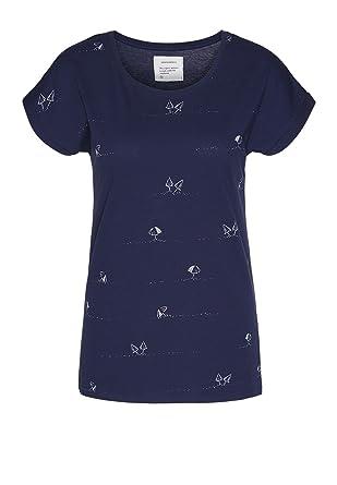 2d73d2ce6dce2c armedangels Damen T-Shirt aus Bio-Baumwolle - Liv at The Beach - Fairtrade