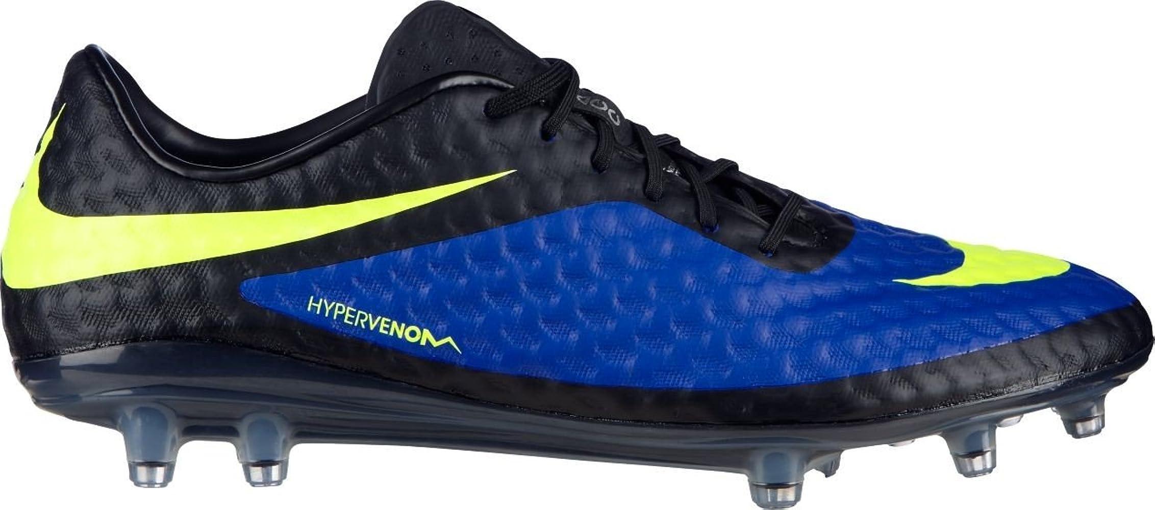 Vacío eficiencia Capitán Brie  Amazon.com | Nike Hypervenom Phantom FG Mens Football Boots 599843 470  Soccer Cleats Firm Ground (UK 7 US 8 EU 41) | Soccer